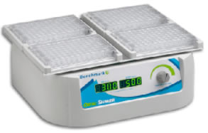 Laboratory Equipment-OrbiShaker MP microplate shaker vortexer with platform for 4 microplates