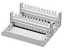 Laboratory Equipment-CS1 Casting Set for 10.5 x 6 cm gels Include 2 trays and 2 combs