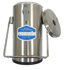 Laboratory Equipment-Stainless Steel Cased Dewar Flasks
