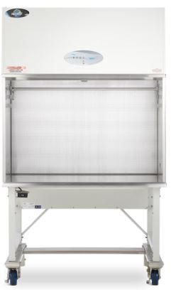 Laboratory Equipment-AireGard ES (Energy Saver) NU-240 Bench Top Horizontal Laminar Flow Hood,